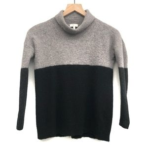 Joie Black & Grey Colorblock Sweater - Size S
